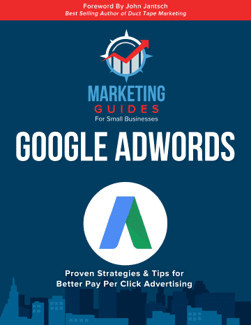 Marketing Guides for Small Businesses Google Adwords book cover.