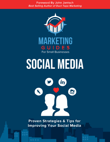 Marketing Guides for Small Businesses Social Media book cover.