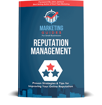 Marketing Guides for Small Businesses Reputation Management book.