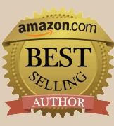 Amazon Best Selling Author Award logo.